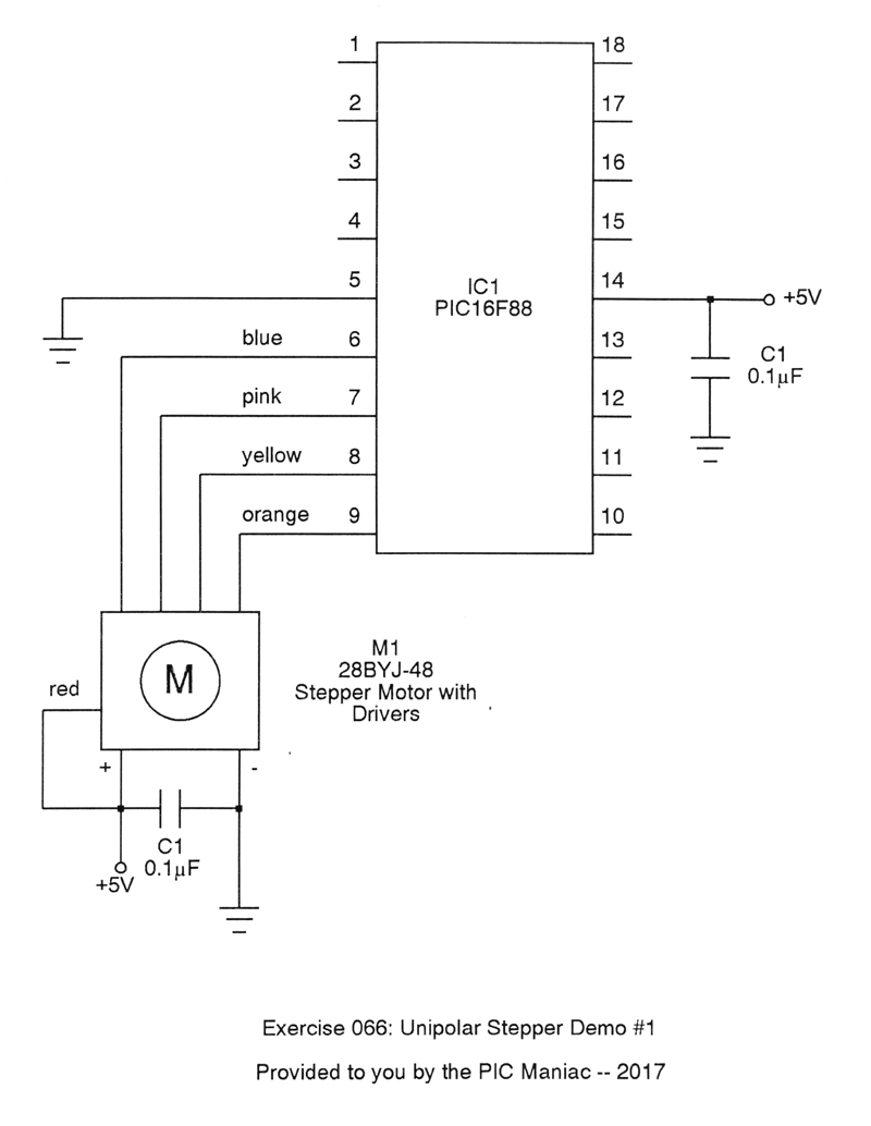 medium resolution of  meaning we can just wire it to the pic directly and not have to worry about the current requirements which run about 150 ma the circuit is therefore