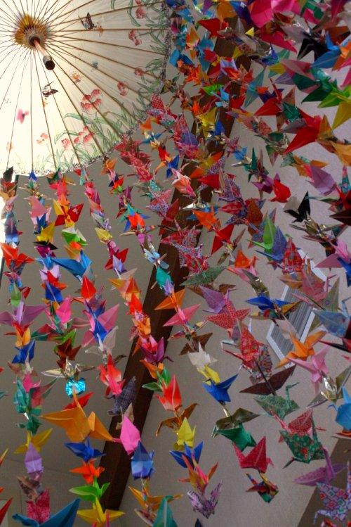 Juneberry Lane: Tutorial Tuesday: Origami Crane Magic ... - photo#19