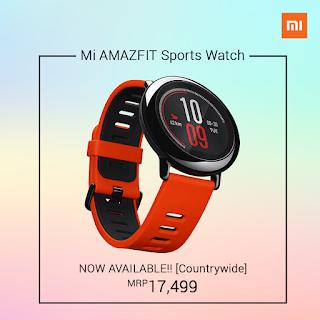 Xiaomi Amazfit Sport Smartwatch Price in Nepal