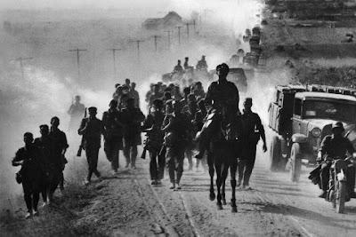 Duitse infanterie in Rusland