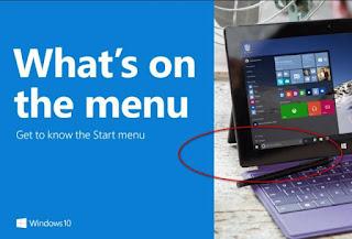 Fitur Windows 10 dan 7
