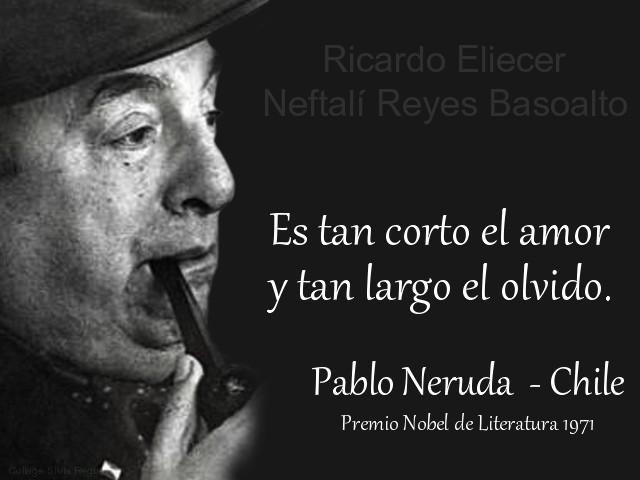 Se cumplen 43 años del fallecimiento de Pablo Neruda