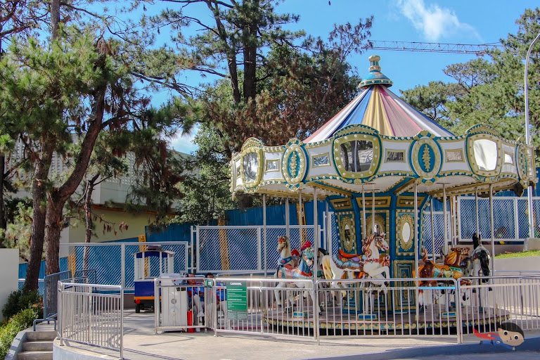 Carousel in Sky Ranch, Baguio City