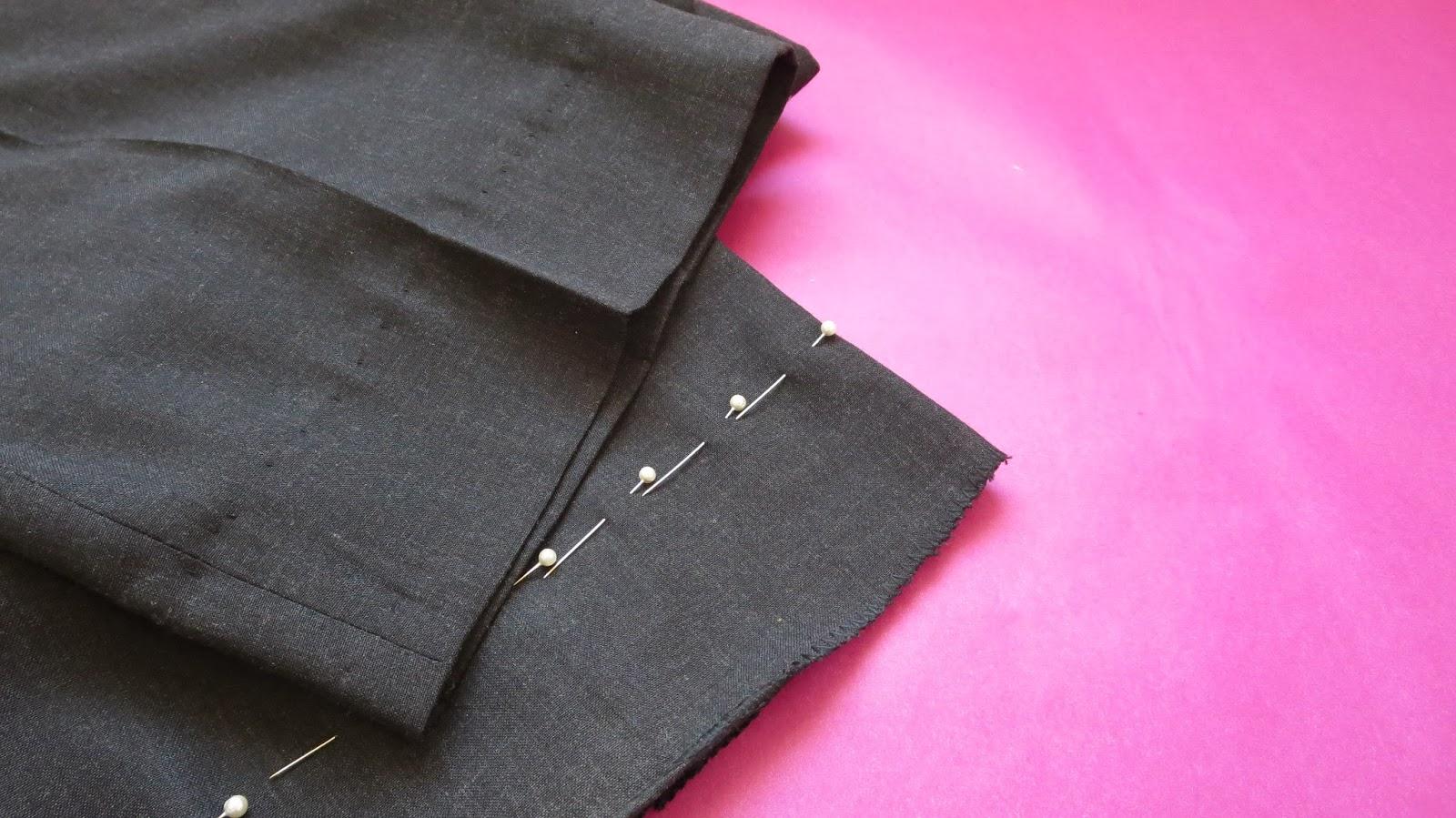 Tutorial: Dobladillo invisible en pantalón - Coser es fácil