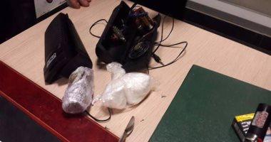 محاولة تهريب كوكايين داخل سماعة بمطار القاهرة
