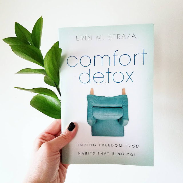 "Comfort Detox by Erin Straza | ""Once we start practicing habits of compassion, trust, and humility, our daily lives will shift. Ego-mania will diminish as we loosen our grip on our days and begin to extend God's comfort to others."""