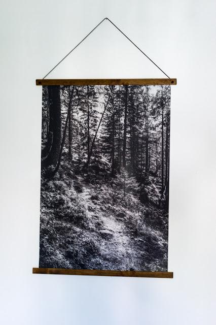 DIY Aufhängung für Poster selber machen Wall Art