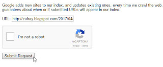 Cara Submit Artikel Postingan di Google Webmaster Tools