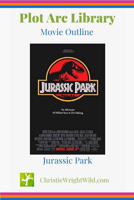 Movie outline for Jurassic Park || Christie Wright Wild - Plot Arc Library