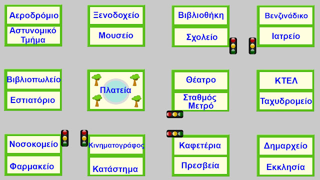 Ask ang Give directions in Greek map