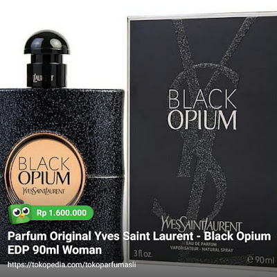 yves saint laurent black opium edp 90ml woman
