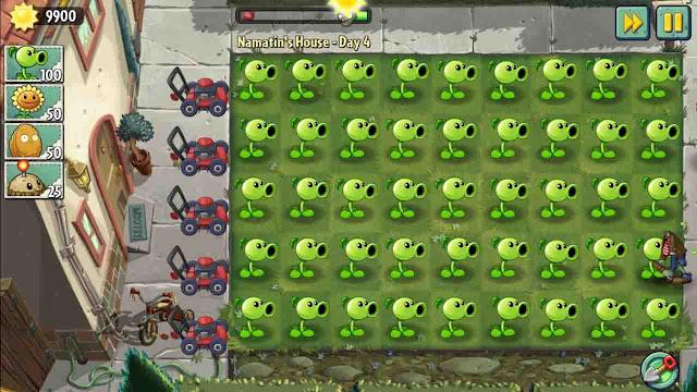 cheat plants vs zombie 2 android mega mod
