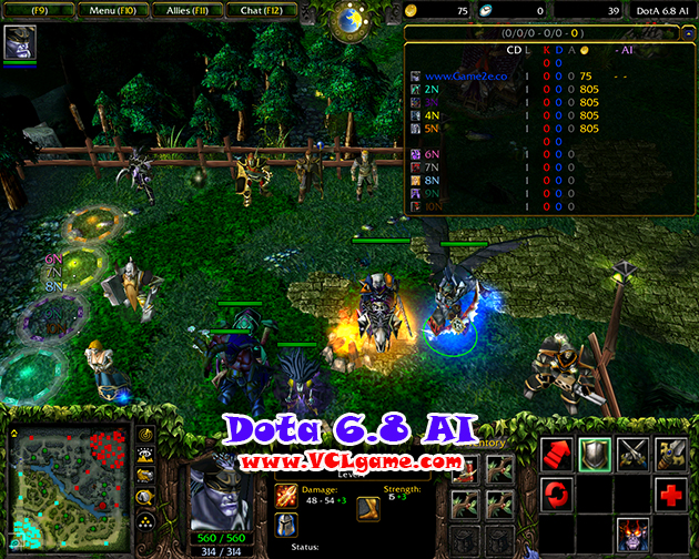 map dota 6 88 ai download