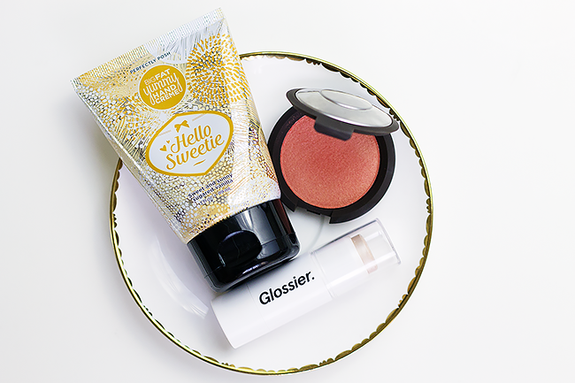 September Beauty Favorites: Perfectly Posh, Glossier Haloscope, Becca Blush in Tigerlily