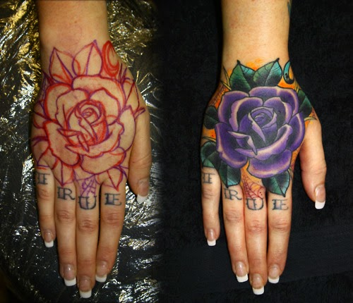 Tattoo Designs Simple On Hand For Girl: Tattoo Simple In Hand For Women And Men