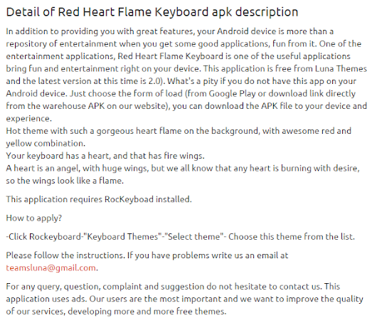 Red Heart Flame Keyboard 2.0 apk | APKs 4 Fun-Download Android Apps, Games, Apks and Much More