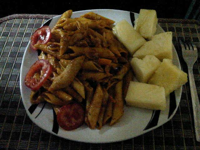 Dobbys signature nigerian food blog i nigerian food recipes i jollof pasta with pineapples forumfinder Image collections