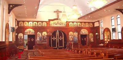 كنيسة مصرية- أرشيفية