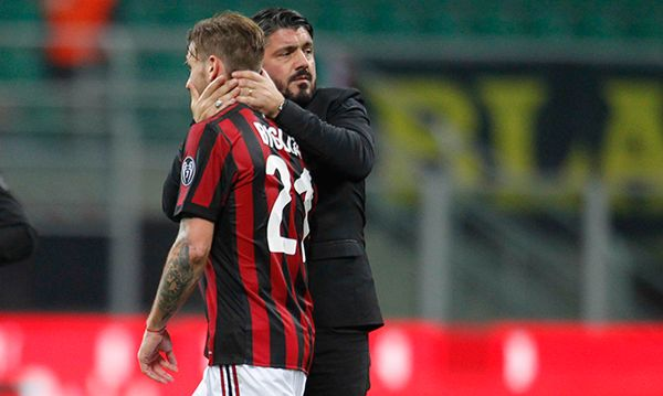Lucas Biglia and Gattuso