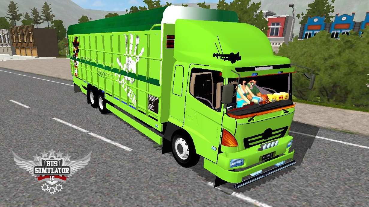 Mod Truck Fuso Hino V2 BUSSID By MGM - Gudang Livery, Skin