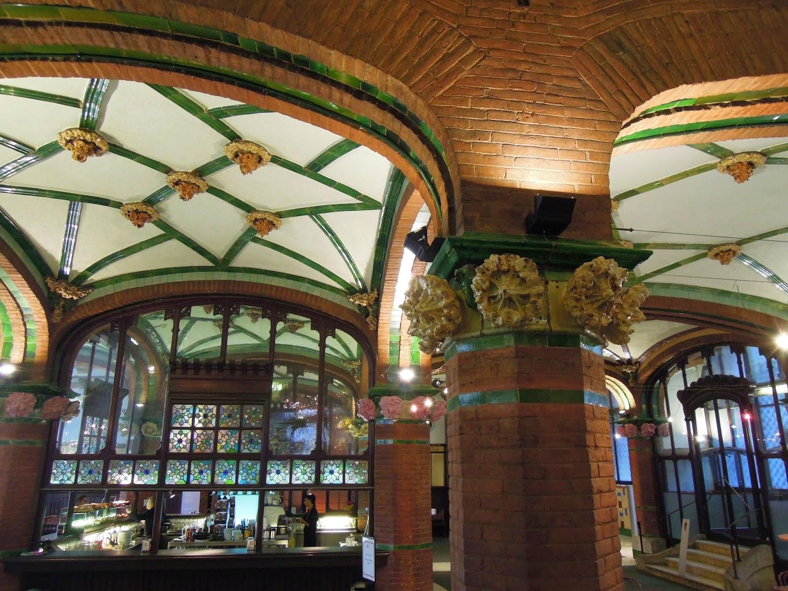 Lo stile modernista del Palau della Musica Catalana