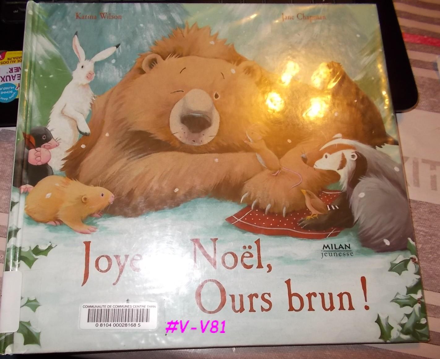Joyeux Noel Petit Ours Brun.Books To Share Plaisir De Lire Joyeux Noel Ours Brun