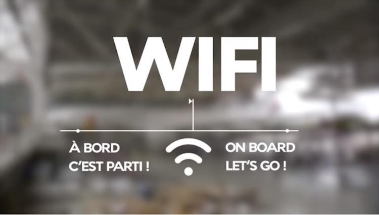 Pokładowy internet, Pokładowy internet Air France, Linie lotnicze, internet w samolocie Air France cena, Air France internet pakiet,  Air France WI-FI