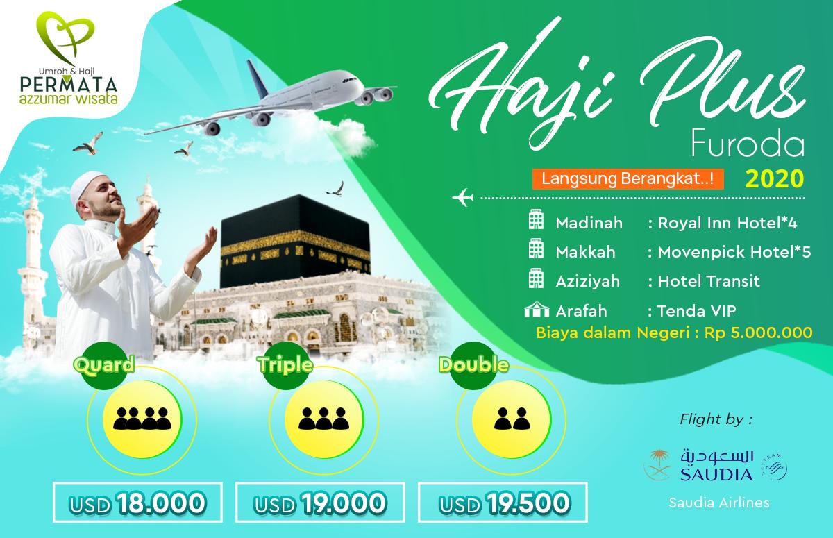 Jadwal Paket Haji Plus 2020 furoda langsung berangkat