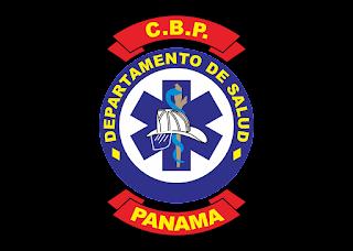 Departamento de salud bomberos de panama Logo Vector