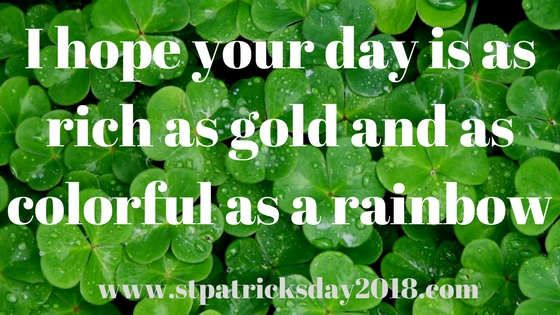 Funny Saint Patrick's day quotes 2018
