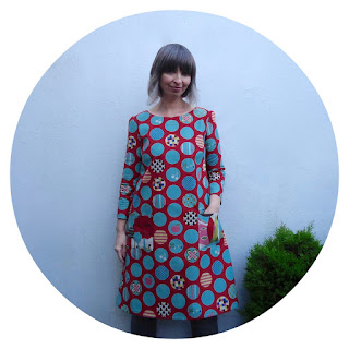 Esme dress in Avant Garden Dot Spot by Ivy Arch