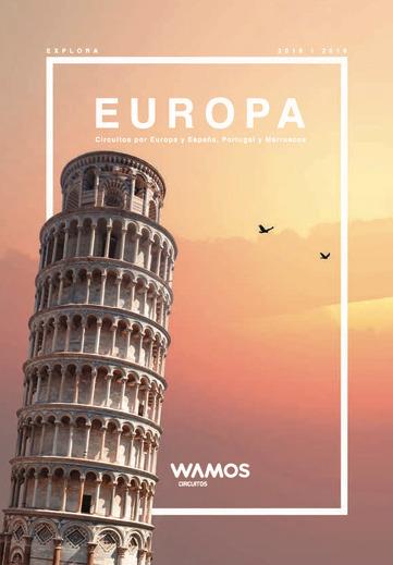 Catálogo Wamos Circuitos Europa 2018-19