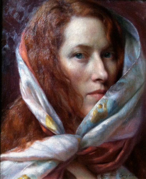 Kamille Corry 1966 | American Figurative painter