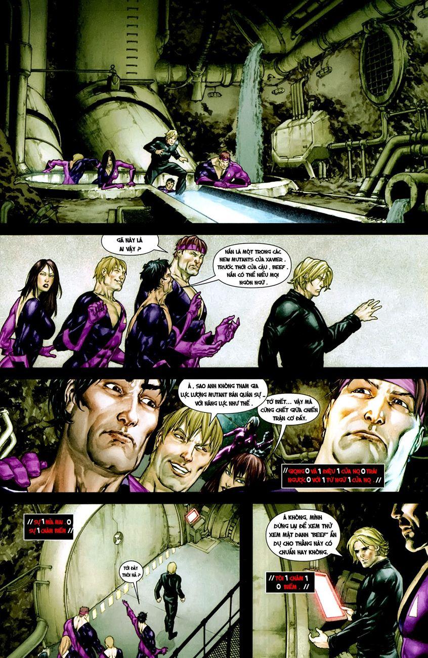 X-Men Necrosha chap 1 trang 34