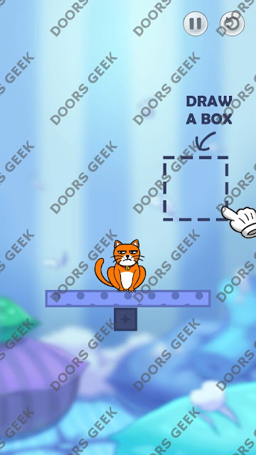 Hello Cats Level 1 Solution, Cheats, Walkthrough 3 Stars for Android and iOS