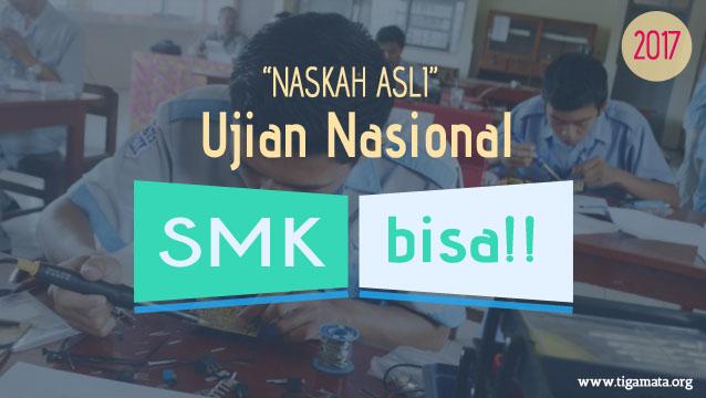 Download Soal UN SMK 2017 Pdf Naskah Asli : Matematika TKP, AKP, PSP