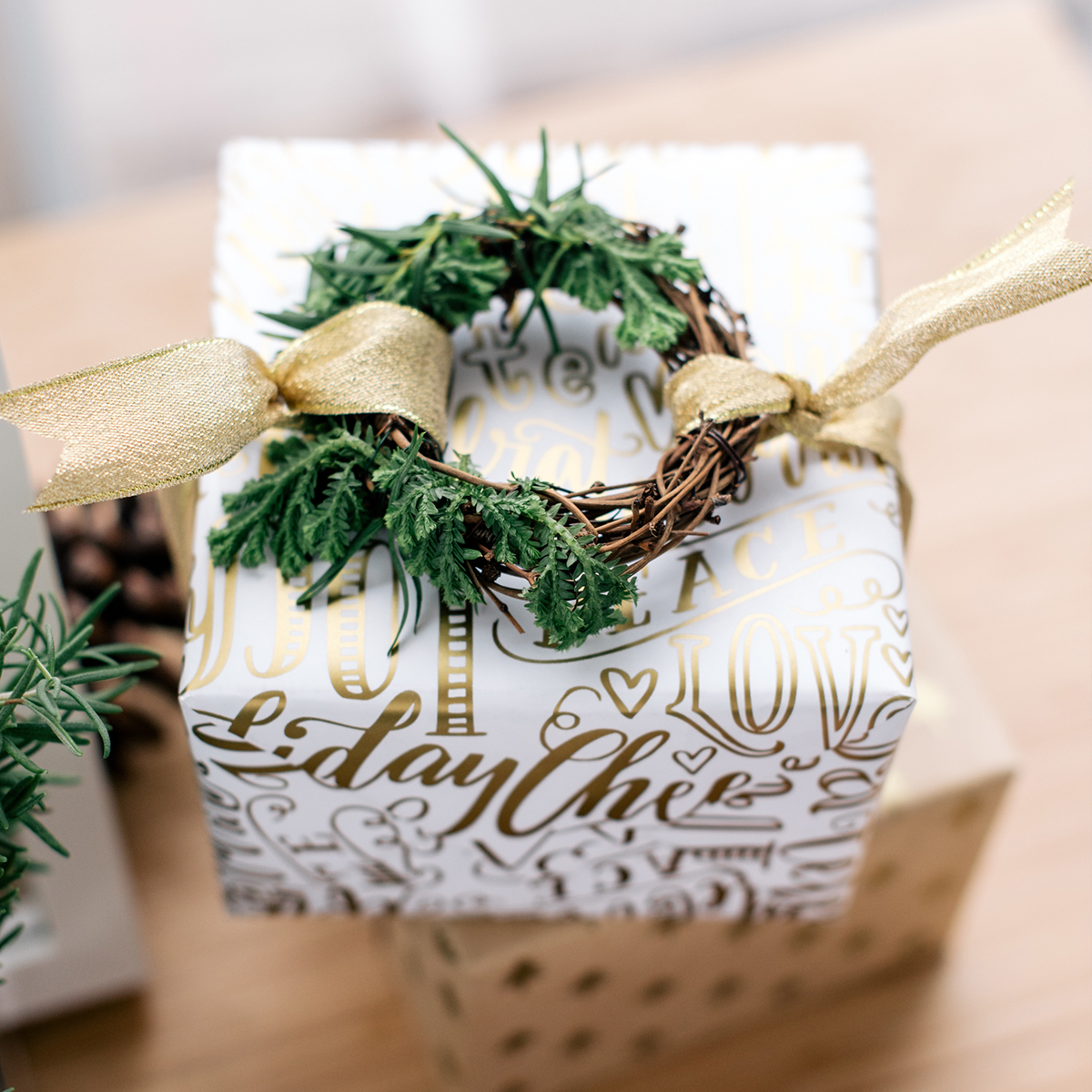 pretty gift topper inspiration from Lorrie Everitt Studio