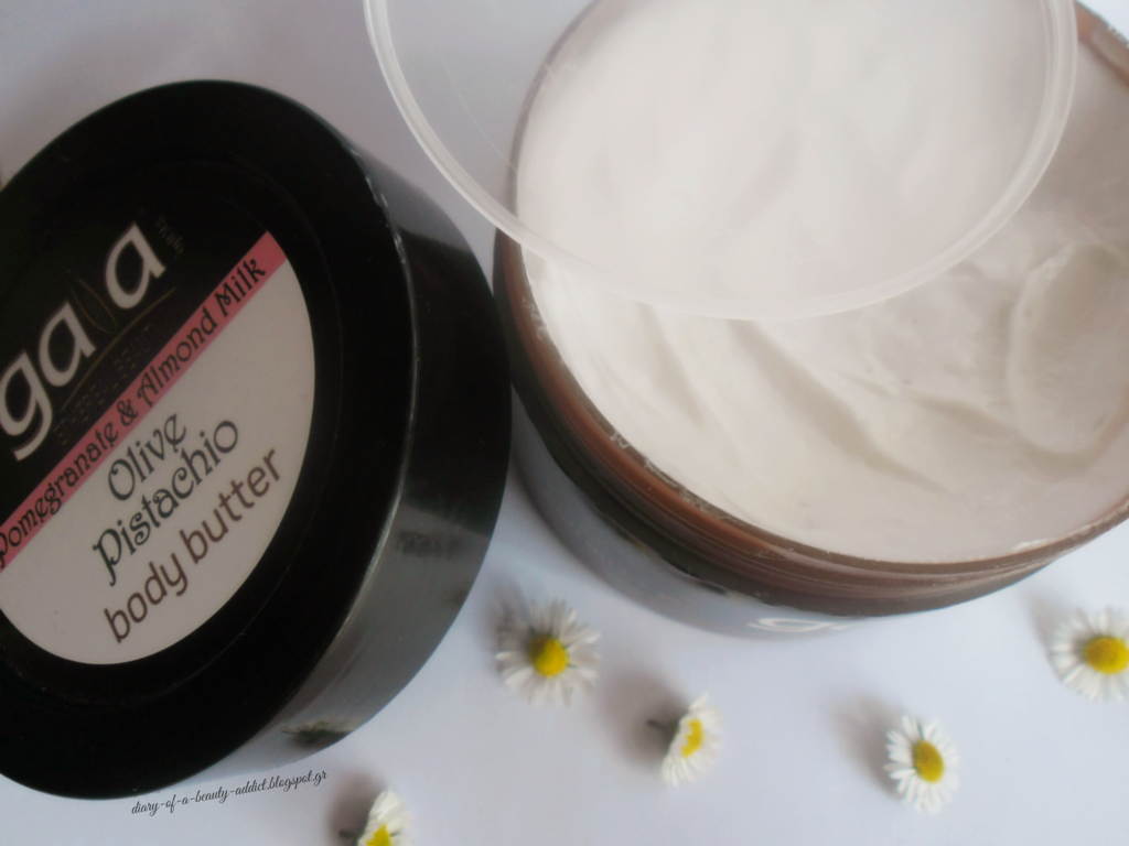 Gaia Olivie Pistachio Pomegranate & Almond Milk Body Butter