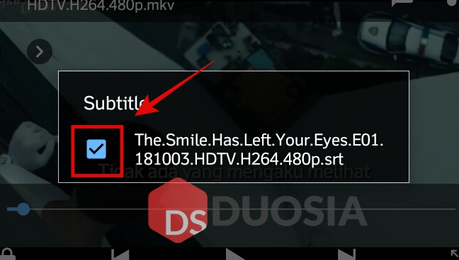 membuka subtitle indonesia di android