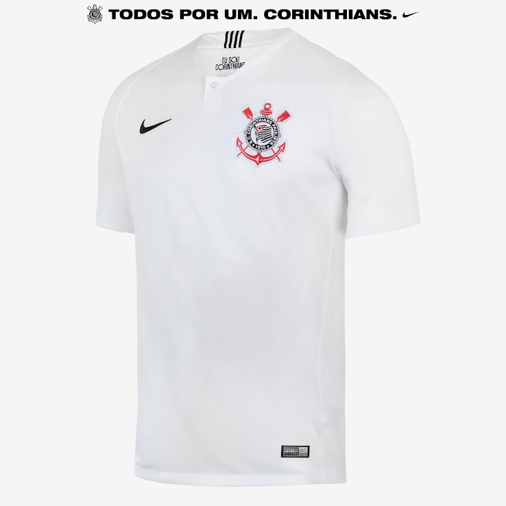 e7de115687e Unique Nike Corinthians 18-19 Home & Away Kits Released - Footy ...
