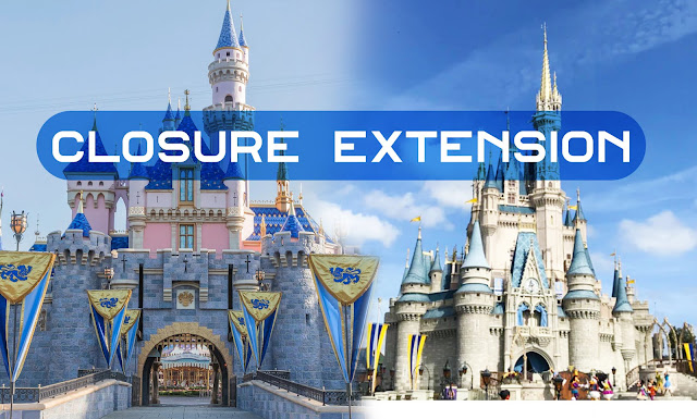 "美國迪士尼 Walt Disney World and Disneyland Announce Parks and Resorts Will Remain Closed ""Until Further Notice"""