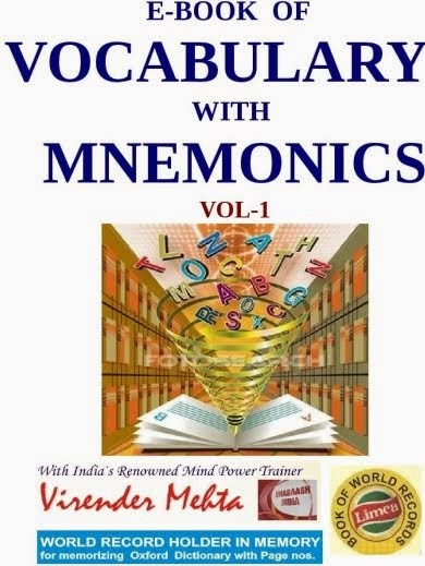 E-Book of Vocabulary with Mnemonics