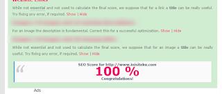 cek seo blog di chkme.com