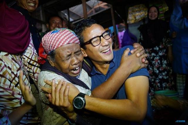 Pemulung: Hidup Sekarang Susah, Lihat Pak Sandi Kok Aku Senang