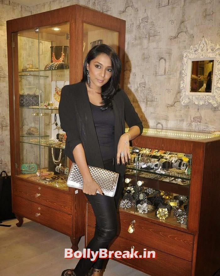 Shweta Salve, Pics from Bansri Mehta Jewellery Lounge Preview