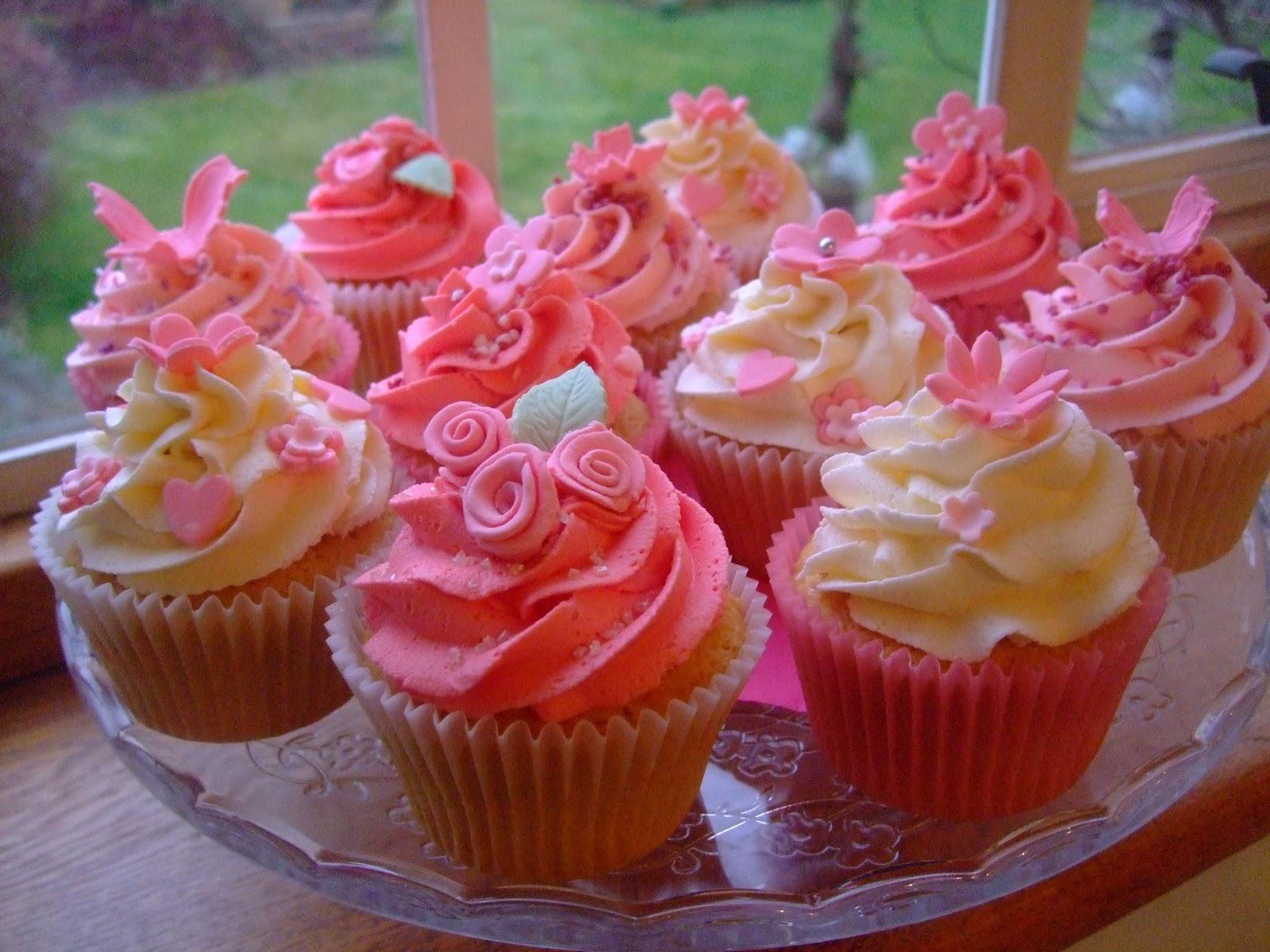 Colourful Cupcakes Of Newbury: Pink Birthday Cupcakes