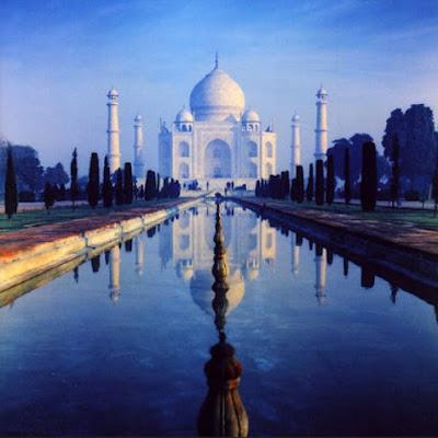 keajaiban dunia Taj Mahal