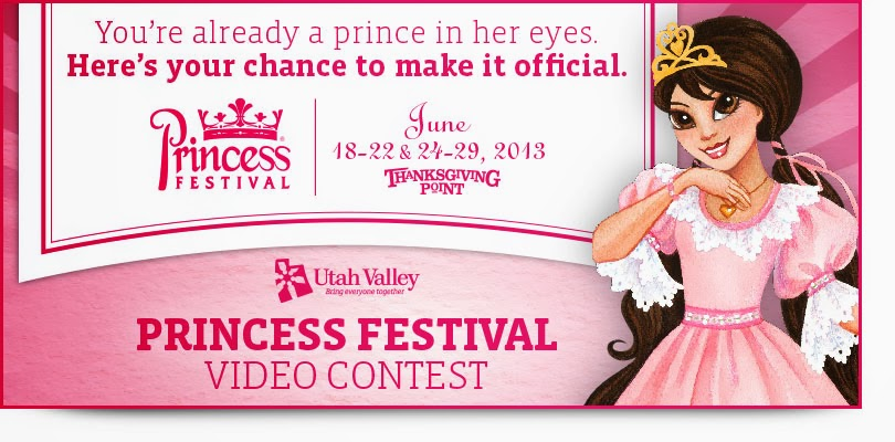 Enter to win Princesses of Everley Masquerade Ball tickets through UVCVB video contest, plus a giveaway at Artsy-Fartsy Mama