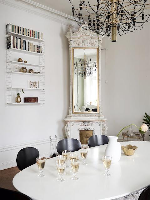 Дизайн-проекты. Элегантная и стильная квартира в Стокгольме