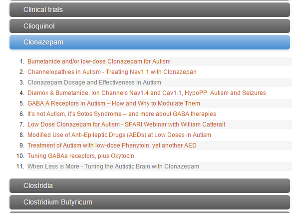 Epiphany: Long Term use of Low Dose Clonazepam and More
